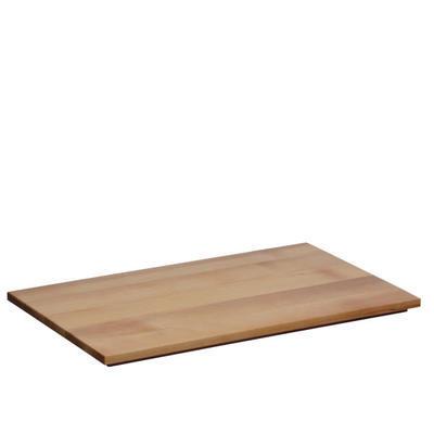 Horní nástavec dřevěná deska univerzální světlá, světlý buk - 53 x 32,5 cm - 2 cm