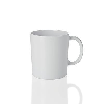 Hrnek 350 ml melamin bílý, hrnek - bílá - 0,35 l / 8,5 cm
