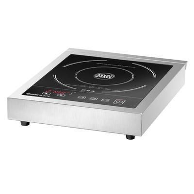 Indukční vařič IK 27TC Bartscher, 340 x 425 x 75 mm - 2,7 kW / 230 V - 4,75 kg - 1