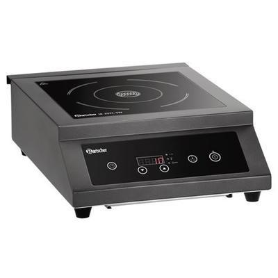 Indukční vařič IK 35TC-SW Bartscher, 380 x 505 x 155 mm - 3,5 kW / 230 V - 1