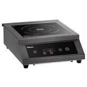 Indukční vařič IK 35TC-SW Bartscher, 380 x 505 x 155 mm - 3,5 kW / 230 V - 1/3