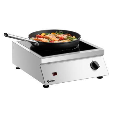 Indukční vařič ITH 30-265 Bartscher, 400 x 455 x 160 mm - 3 kW / 230 V - 8,8 kg - 1