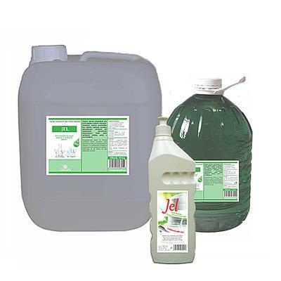 Jel saponát pro ruční mytí nádobí, 5 kg PET láhev