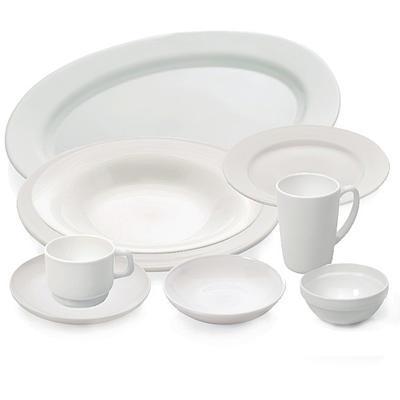 Jídelní souprava Uni, talíř mělký - 22,5 cm - 1