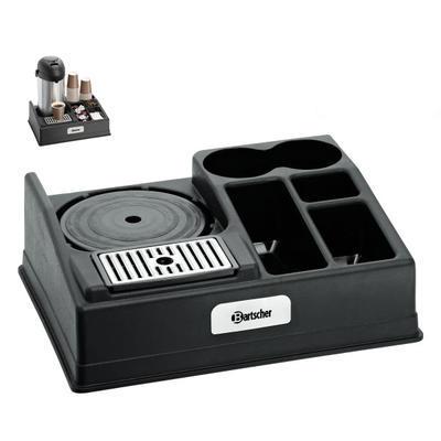Kávová stanice na 1 konvici Bartscher, na 1 konvici - 440 x 340 x 145 mm - 1,15 kg - 1