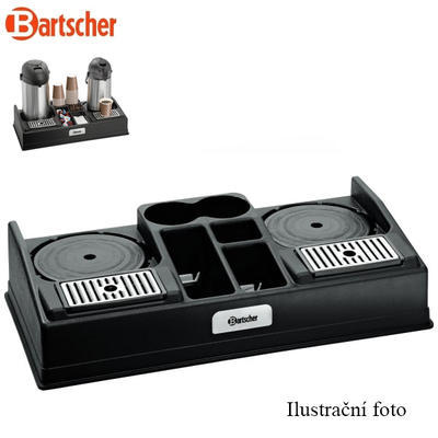 Kávová stanice na 2 konvice Bartscher, na 2 konvice - 1,8 kg - 1