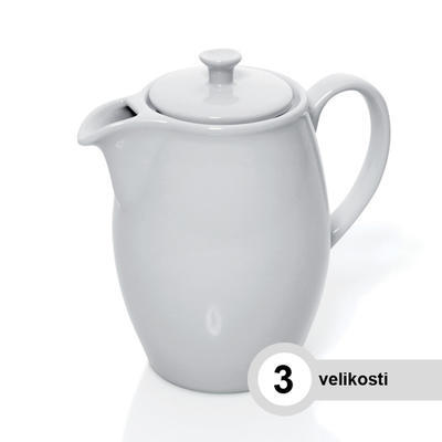 Konvice kávová porcelánová, konvice - 0,90 l - 15,5 x 8,5 cm