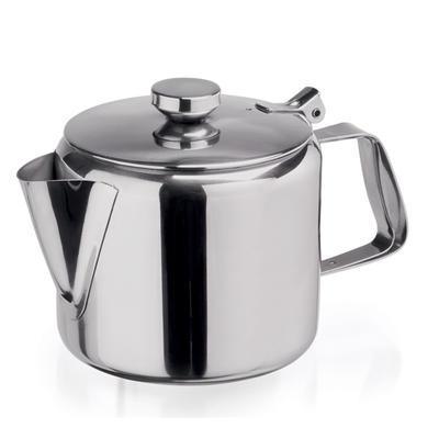 Konvice na čaj nerezová s víčkem, 1,5 l - 12,5 cm - 14,0 cm