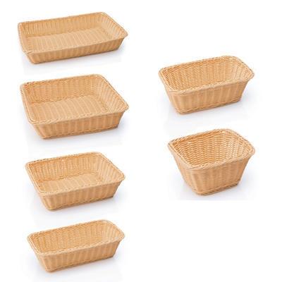 Koš na pečivo bufetový GN světlý, GN 1/6-65 - 17,6 x 16,2 x 6,5 cm - světlé - 1