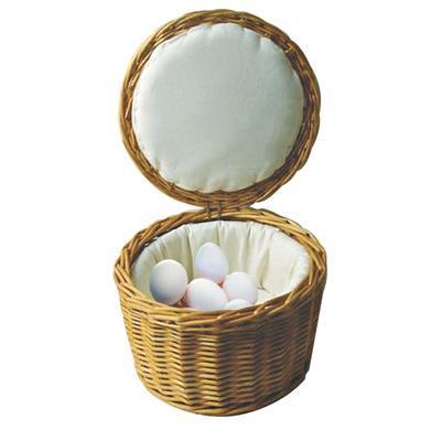 Koš na vejce s víkem, 26 x 17 cm