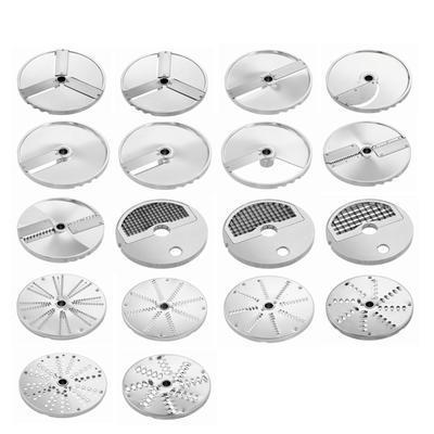 Krouhač zeleniny GMS601 Disky Bartscher, plátkovač 10 mm - samostatně + kostičkovač 10 mm