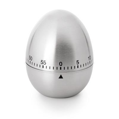 Kuchyňská minutka tvaru vajíčka, 6 x 7,5 cm