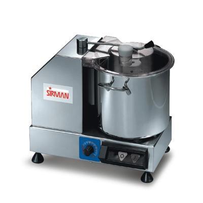 Kutr na mělnění surovin 5 kg Sirman C6, C6  VV (s regulací ot.) - 350W - 11 kg