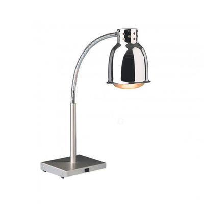 Lampa ohřívací bufetová, 200 x 200 x 40 mm - 700 mm - 0,25 kW / 230 V
