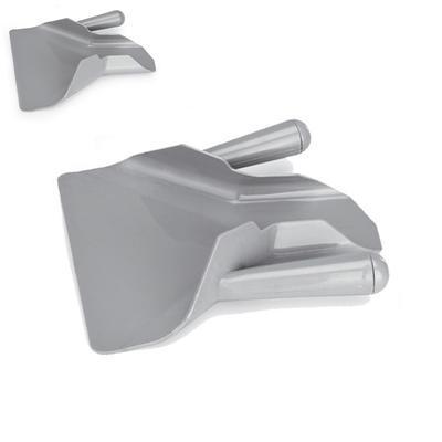 Lopatka na hranolky polykarbonát, 1 úchyt vpravo - 11,5 cm - 23 x 20,5 cm - 1