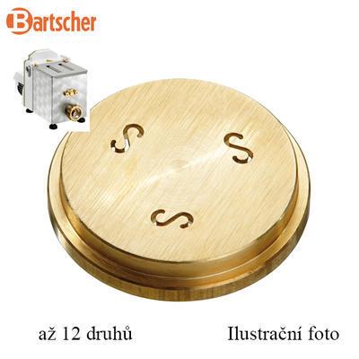 Matrice na těstoviny pro výrobník Bartscher, Fettuccine 8 mm - 0,146 kg - 1