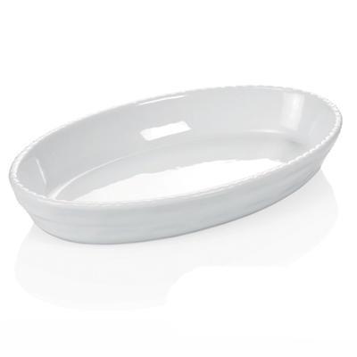 Mísa zapékací oválná bílá, 22 x 13,5 cm - 4,0 cm