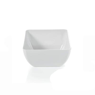 Miska hranatá melaminová, 24 x 24 cm - 12,5 cm - 5 l