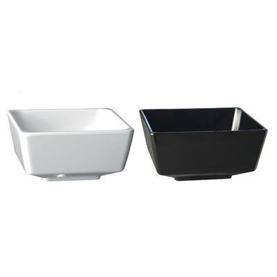 Miska hranatá Square melamin, 25 x 25 x 12 cm - 4,0 l - bílý melamin - 1