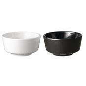 Miska kulatá Float melamin, Miska černý melamin - 13,0 x 6,5 cm - 0,45 l - 1/3