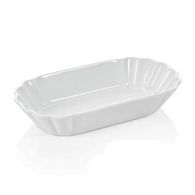 Miska na hranolky porcelánová, miska vysoká - 25 x 12,5 x 5 cm - 1