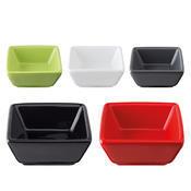 Miska porcelánová Basic barevná, černá - 76 x 76 x 35 mm - 0,06 l - 1/7