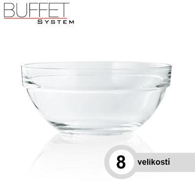 Miska skleněná kulatá, 20,0 cm - 1,10 l