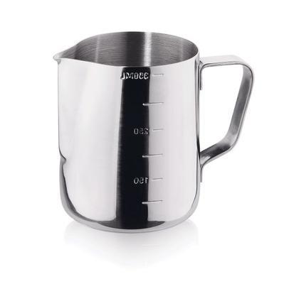 Mlékovka nerezová se stupnicí, 0,60 l - 7,5 cm - 11,0 cm