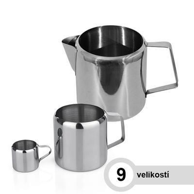 Mlékovka nerezová, 0,30 l - 7,5 cm - 7,5 cm