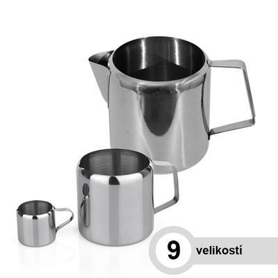 Mlékovka nerezová, 1 l - 10,0 cm - 13,0 cm