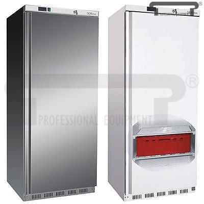 Mrazicí skříň plné dveře GN 2/1 600 l, nerez - 780 x 700 x 1895 mm - 469 l