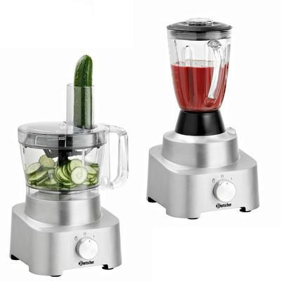 Multifunkční kuchyňský robot FP1000 Bartscher, 2 l - 1000W - 6,35 kg - 1