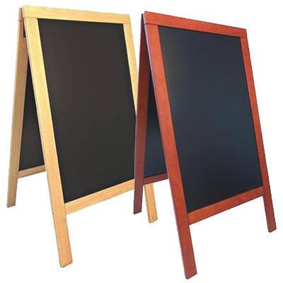 Nabídková tabule Sandwich 135x70 cm, přírodní - 135 x 70 cm - 143 x 74,5 x 7 cm