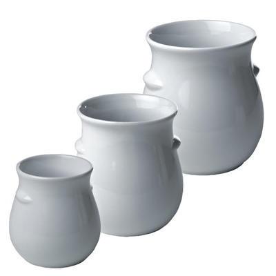 Nádoba na dresink porcelán, dóza bez víka 2 l - 2 l - 13,5 x 22,0 cm - 1