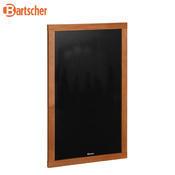 Nástěnná nabídková tabule Bartscher, 470 x 20 x 795 mm - 1,6 kg - 1/2