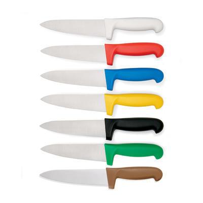 Nůž kuchyňský s barevnou rukojetí HACCP, modrá - 25 cm