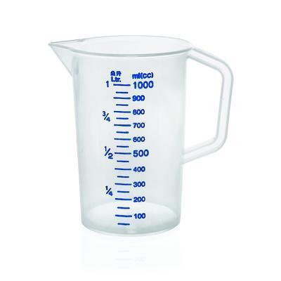 Odměrka se značením po 100 ml, 5,0 l - 19,6 cm - 27 cm