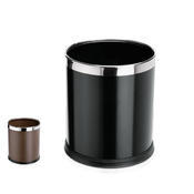 Odpadkový koš na papíry 25 cm, černý - PR 22 x V 25 cm - 1/3