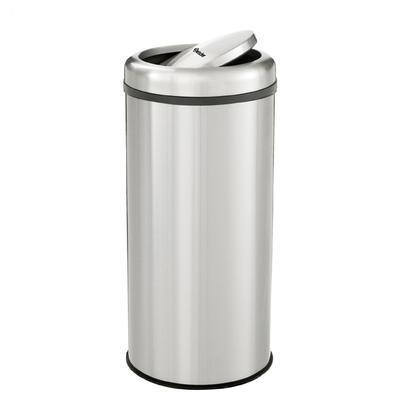 Odpadkový koš s výklopným víkem Bartscher, 350 x 350 x 750 mm - 50 l - 6,3 kg - 1
