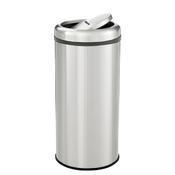 Odpadkový koš s výklopným víkem Bartscher, 350 x 350 x 750 mm - 50 l - 6,3 kg - 1/4