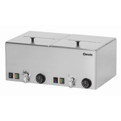 Ohřívač párků 2 vany Bartscher, 535 x 370 x 240 mm - 2 kW / 230 V - 10,4 kg