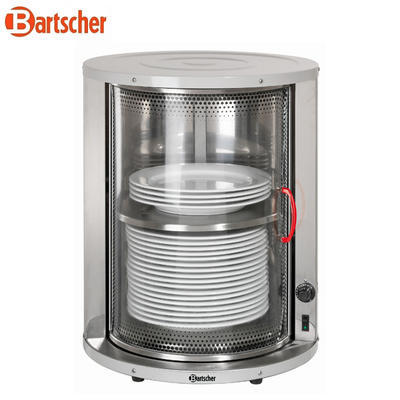 Ohřívač talířů bufetový Bartscher, 460 x 460 x 575 mm - 30 - 40 talířů - 0,6 kW / 230 V