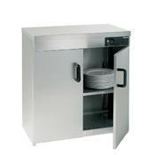 Ohřívač talířů podstolový 2D Bartscher, 750 x 495 x 855 mm - 110 - 120 talířů - 1,2 kW / 230 V - 1/2