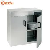 Ohřívač talířů podstolový Bartscher, 75 x 45 x 85,5 cm - 110 - 120 talířů - 49 kg - 1/2
