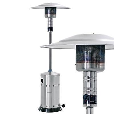 Ohřívač terasový plynový pojízdný Bartscher, 780 x 780 x 2220 mm - 13,5 kW - 18 kg