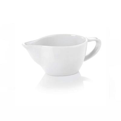 Omáčník porcelánový 200 ml, 0,2 l - 15 x 7,5 x 6 cm