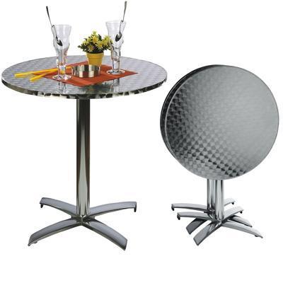 Party stůl se sklápěcí deskou Bistro, 70 cm - 70 cm