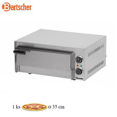Pec na pizzu MINI 1 Bartscher, jednopatrová - 2000W - 18,8 kg