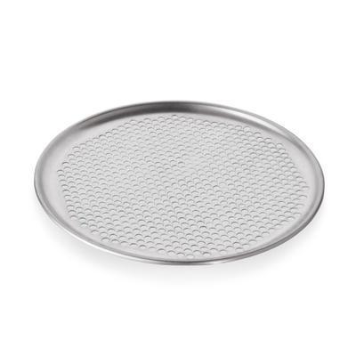 Plech na pizzu kulatý perforovaný Alu, 25 / 23 cm