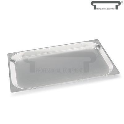 Plech nerezový gastronorma, GN 1/2 - 32,5 x 26,5 cm - 40 mm